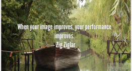 When your image improves, your performance improves.