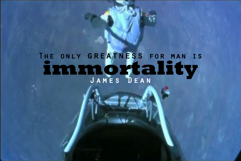 The only Greatness for Man is Immortality