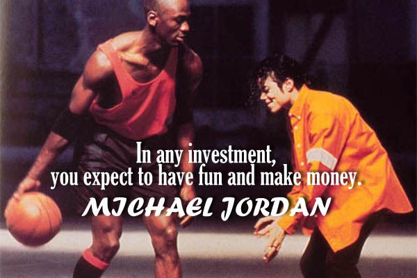 In any investment you expect to have fun and make money.