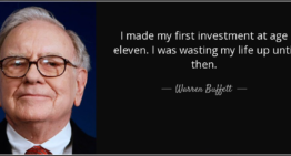 I made my first investment at age eleven. I was wasting my life up until then.