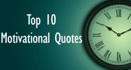Top 10 Motivational Quotes